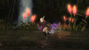 FFXIV Ninja Running