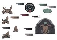 Catherine details palette concept 1 for Final Fantasy Unlimited