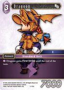 Dragoon 5-119C from FFTCG Opus