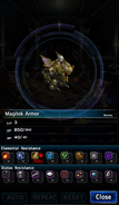 FFBE Magitek Armor Analyze 2