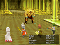 FFIIIDS Golden Sword