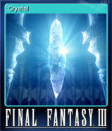 FFIII Steam Card Crystal