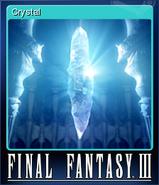 FFIII Steam Card Crystal