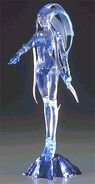 Ffviii shiva action figure clear