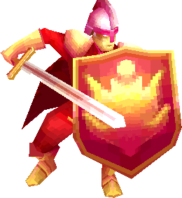 Flame Knight (Final Fantasy IV 3D)