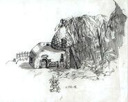 Gongaga FFVII Sketch 1