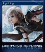 LRFFXIII Steam Card Lightning