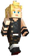 Minecraft FFXV Prompto