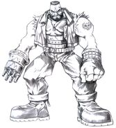 Barret Concept Art