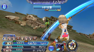 DFFOO Ashe HP Attack