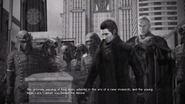 King Mors funeral in FFXV Episode Ardyn