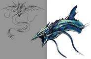 Leviathan artwork for FFVII Remake