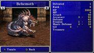 FFII Behemoth Bestiary