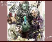FFXIV 1st Anniversary Countdown 16 Days