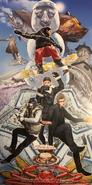 FFXV Hokkaido post card