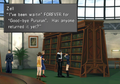 Zell looking for book from FFVIII Remastered