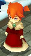 Eblan red girl NPC render ffiv ios