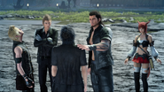 End of Adventurer from Another World in FFXV