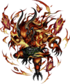 FFBE Ifrit Artwork 2