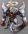 Iron Giant artwork for Final Fantasy III 3D