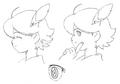 Yu profile sketch for Final Fantasy Unlimited