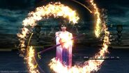 Yuna summons ifrit