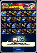 FFBE January 2017 Daily Rewards (Global)