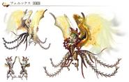 FFT0 Phoenix Concept Art