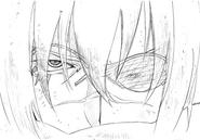 Kaze closeup sketch for Final Fantasy Unlimited