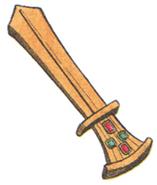 Ancient Sword FFIII Art