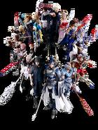 Dissidia Final Fantasy NT Main Heroes