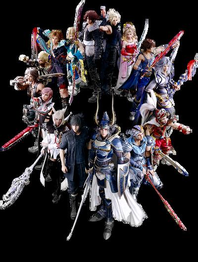 Dissidia Final Fantasy NT Main Heroes.png
