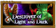 FFRK Destroyer of Light and Dark Rebirth Event