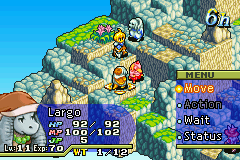 Final Fantasy Tactics Advance statuses