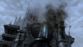 FFXIV Gate of Ishgard destroyed
