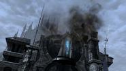 FFXIV Gate of Ishgard destroyed
