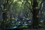 Ff14-odin-in-forest