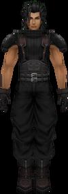 1st class Zack character model.