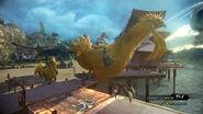 FFXIII-2 Serah Riding Chocobo