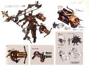 Gilgamesh Weapons Art T0