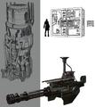Mako Reactor 1 details artwork for FFVII Remake