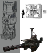 Mako Reactor 1 details artwork for FFVII Remake
