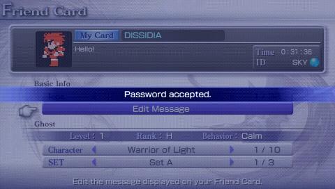 Password (Dissidia)
