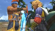 FFX HD Wakka Brotherhood Tidus