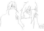 Kaze sketch 6 for Final Fantasy Unlimited