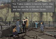 Trabia students talk about becoming SeeD from FFVIII R