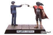 Vincent Valentine Ehrgeiz diorama figures