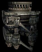 Alexandria Castle Tower CG Art Rowell 1