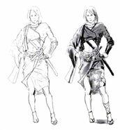 Concept FFX-2 Job Samurai 2