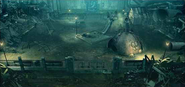 Evergreen Park artwork for Final Fantasy VII Remake